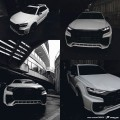 Body kit PDQ8XL Widebody  Audi Q8