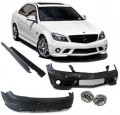 Bodykit Mercedes C W204 (07-11)   C63 AMG LOOK