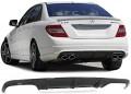 Difuzor Carbon real Mercedes C Klasse W204 Limousine C63 AMG (07-11)