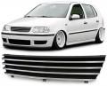 Grila neagra / crom VW POLO 6N2  (99-01)