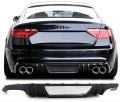 Difuzor Carbon real Audi A5 S5 Limousine 8T (07-16) pt bara de S5