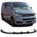 Lip (prelungire)negru lucios VW Bus T5 (03-15) cu bara Sportline