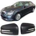 Capace oglinzi Carbon mat Mercedes E Klasse W212 S W221 GLA
