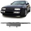 Grila +Pleoapa (negru crom VW Corrado (89-96)