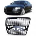 Grila neagra  Audi A6 C6 Limousine Avant (04-08)