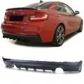 Difuzor negru mat BMW 2er Coupe F22 (13+)