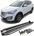 Praguri treapta bullbar Hyundai Santa Fe (12-16)