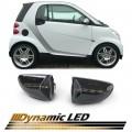 Semnalizari led Dinamice  Smart Fortwo Cabrio Coupe 451 (07+)