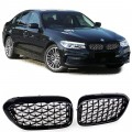 Grile Diamant  Exclusiv Optik negre/Crom BMW 5er G30 G38  (16+)