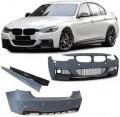 Bodykit  3er BMW F30 (11+)  M PERFORMANCE (pentru senzori si spalatoare far) Contine Proiectoare