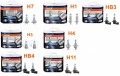 Becuri Osram  gama  NIGHT BREAKER UNLIMITED  (h1, h7 , h4 , h3 , hb4 ,hb3 , h11)