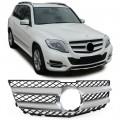 Grila Mercedes GLK X204 (12-15) gri/crom