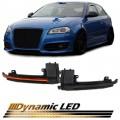 Semnalizare led dinamica Oglinzi  Audi A3 8P A4 B8 8K A5 8T A6 4F B8 Q3 8U